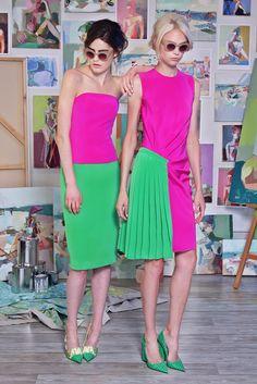 Christian Siriano Resort 2015 - Slideshow - Runway, Fashion Week, Fashion Shows,. Green Fashion, Colorful Fashion, Love Fashion, High Fashion, Fashion Show, Fashion Outfits, Christian Siriano, Fashion Week, Runway Fashion