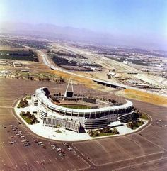 The Big A in 1977.