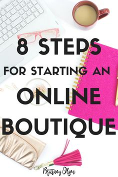 How to start an online boutique: 8 essential steps. Starting an online boutique is a challenge. Here are some steps to consider before you start an online boutique and purchase wholesale boutique clothing. Home Based Business, Online Business, Business Ideas, Business Names, Business Launch, Tshirt Business, Business Planner, Business Inspiration, Craft Business