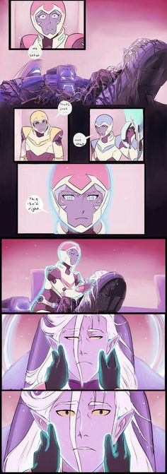 Something I wish had happened TT^TT Voltron Comics, Voltron Memes, Form Voltron, Voltron Ships, Prince Lotor, Allura, Parks N Rec, Space Cat, Star Vs The Forces Of Evil