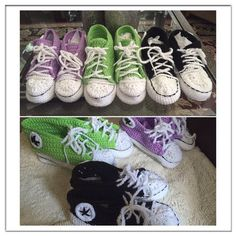 Converse inspired slippers