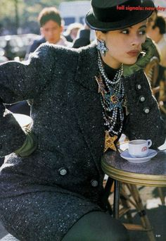 'New Day' from…………Vogue July 1989 feat Kara Young & Audrey Benoit