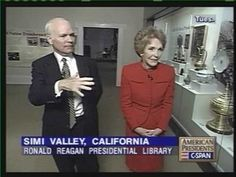 C-SPAN with Nancy Reagan's 1999 tour of the Ronald Reagan Presidential Library