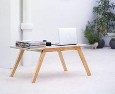 Stolik kawowy MONO C1 we wnętrzu Desk, Furniture, Home Decor, Table Desk, Interior Design, Offices, Home Interior Design, Table, Writing Desk