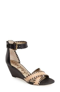 Sam Edelman 'Silvia' Ankle Strap Wedge Sandal (Women) available at #Nordstrom