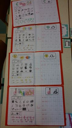 GS writing notebook evolution January to April