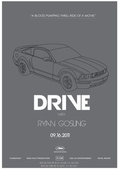 Drive (2011) - Minimal Movie Poster by Jim Diamas #minimalmovieposter #alternativemovieposter #jimdiamas
