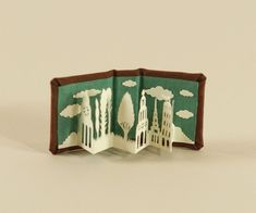 pop-up from a little book, when will I finally start with making pop-up books myself? Ugh procrastination!