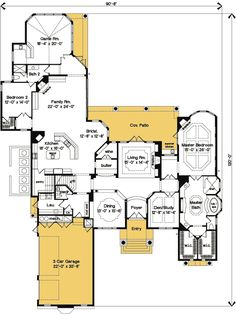 Luxury Master Bedroom Suite Floor Plans plan 65613bs: 3 bedroom beauty with covered lanai | bath, tray