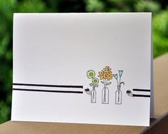 Cute card to make with mad for plaids