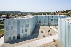 University Extension | DFA | Dietmar Feichtinger Architectes | Archinect