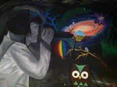 Owl City acrylic