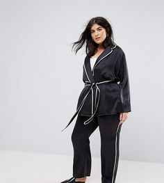 Discover the latest fashion & trends in menswear & womenswear at ASOS. Shop our collection of clothes, accessories, beauty & Plus Size Sleepwear, Plus Size Pajamas, Pajama Bottoms, Pajama Pants, Latest Fashion Clothes, Fashion Online, Plus Size Brands, Pajamas Women, Online Shopping Clothes