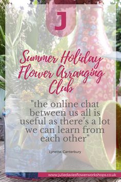 Summer holiday flowerarranging club  #FlowerClass #FlowerArranging #FlowerArrangingClass #FlowerTutorial #FlowerArrangingTutorial #DIYflowers #DIYflowertutorial #FlowersAtHome #FlowerArrangingAtHome #LearnFlowers #HowToArrangeFlowers #FlowerStart  #LearnFlowerArranging #DIYwedding #DIYweddingflowers #FlowerAdvice #EasyFlowerArrangements #FlowerArrangingMadeEasy Flower Arrangements Simple, Simple Flowers, Diy Wedding Flowers, Diy Flowers, Jam Jar Flowers, What Sells On Etsy, Holiday Club, Childrens Gifts, Flower Tutorial