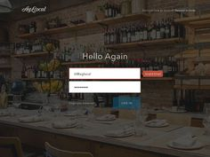Beautiful Examples of Login Forms for Websites and Apps - Designmodo