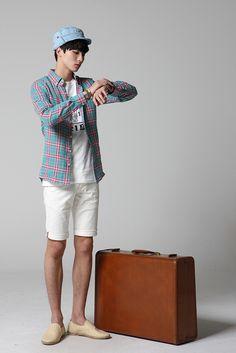 Men's summer fashion #menstyle #mensfashion #koreanfashion
