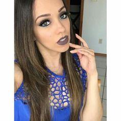 """Ya vieron el video nuevo? El tutorial de este maquillaje ya esta en el canal desde las 3pm como cada martes, viernes y domingo! LINK DIRECTO   https://youtu.be/Bnc9ah7jmDg {  labial de @gerardcosmetics en """"gravity""""}"""
