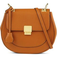 ALDO Friedline ($45) ❤ liked on Polyvore featuring bags, handbags, shoulder bags, cognac, cognac purse, imitation purses, aldo, brown crossbody and cognac handbag