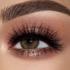 Metallic Eye Makeup, Rose Gold Makeup, Makeup For Green Eyes, Blue Eye Makeup, Smokey Eye Makeup, Bronze Makeup, Eye Makeup For Hazel Eyes, Makeup Eyeshadow, Drugstore Makeup
