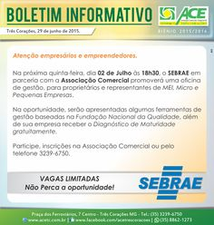 Folha do Sul - Blog do Paulão no ar desde 15/4/2012: BOLETIM ACE: SEBRAE