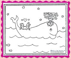 Free Valentines Coloring Page Printable from children's book illustrator