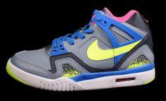 """Nike Air Tech Challenge II GS """"Volt Splatter"""""""