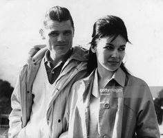 American jazz trumpeter Chet Baker with his fiancee Carol Johnsonn leaving an Italian jail at Lucca. Baker was arrested by Italian police as he was about to give himself a shot of morphine. Get premium, high resolution news photos at Getty Images Jazz, Baker Image, Italian Police, Famous Musicals, Chet Baker, Lets Get Lost, Lady And Gentlemen, American, Music Artists