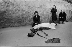 Letizia Battaglia (born March 5, 1935) is a Sicilian photographer and photojournalist. Although her photos document a wide spectrum of Sicilian life, she is best known for her work on the Mafia.