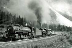 Old Train Pictures, Canadian Pacific Railway, Steam Locomotive, Trains, Train