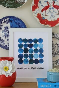 once in a blue moon-free printable