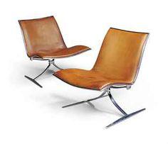 Preben Fabricus & Jorgen Kastholm, FK-710 Lounge Chair, 1968. #allgoodthings #danish #furniture spotted by @missdesignsays