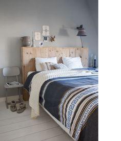 Slaapkamer @ Huis & Grietje  fotografie Jeltje Janmaat  www.huisengrietje.nl