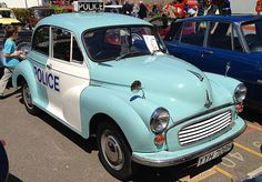 1969 Morris Minor - Metropolitan Police (YYH 708H) | via Flickr