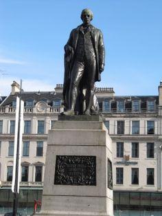 Statue of Rabbie Burns, Glasgow