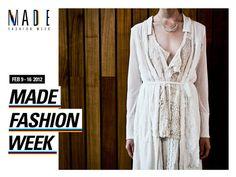 launch screen onMADE Fashion Week