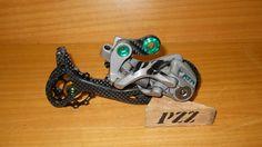 PZZ garage: Cambio posteriore PZZ XTR Shadow Or.2 [PZZ compone...