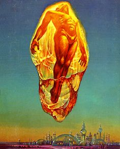 The Silkie, Bruce Pennington, Sci-fi art Science Fiction Kunst, Science Art, Fantasy Kunst, Fantasy Art, Sci Fi Kunst, Arte Sci Fi, 70s Sci Fi Art, Pulp Art, Psychedelic Art