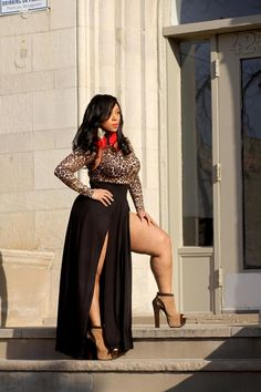 plus size curvy girl fashion