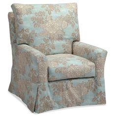 Acadia Furnishings Eileen Swivel Glider Chair