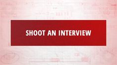Watch Now! We teamed up with B&H to share seven simple steps on how to shoot a video interview!  https://www.youtube.com/watch?v=FElRjwAeiRw