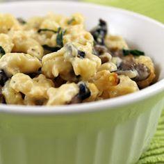 Mushroom Mac & Cheese |