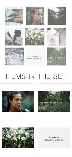 """katniss everdeen moodboard"" by chaoticcamryn ❤ liked on Polyvore featuring art"