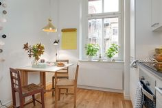 //Inspiration d�co// Un appartement scandinave tr�s f�minin