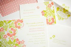 Dramatic - Paper Chez Letterpress Wedding