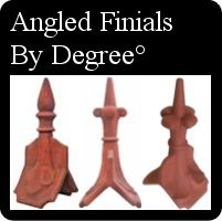 Victorian Roof Finials And Decorative Ridge Tiles For Roofs