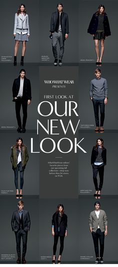 ooh, love. marissa webb is taking her new gig seriously + gettin' right to work! {banana republic fall 2014 collection}