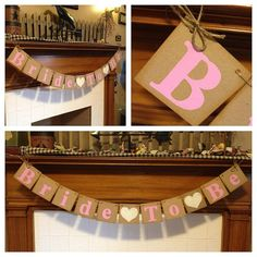 Bride To Be Banner  Bridal Shower Decorations  by ClassicBanners, $20.00