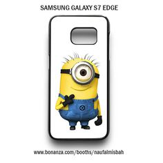 Funny One Despicable Me Minion Samsung Galaxy S7 EDGE Case