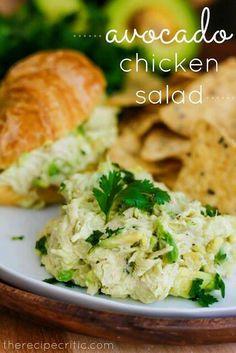 Chicken avacado salad