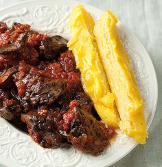 Polenta fingers and chilli chicken livers are the perfect pub grub. It's mexican day! Chicken Liver Recipes, How To Cook Polenta, Cheap Meals, Cheap Food, Polenta Recipes, Beef Liver, Chicken Livers, Cereal Recipes
